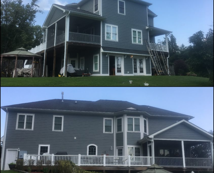 painting contractors-exterior house paint