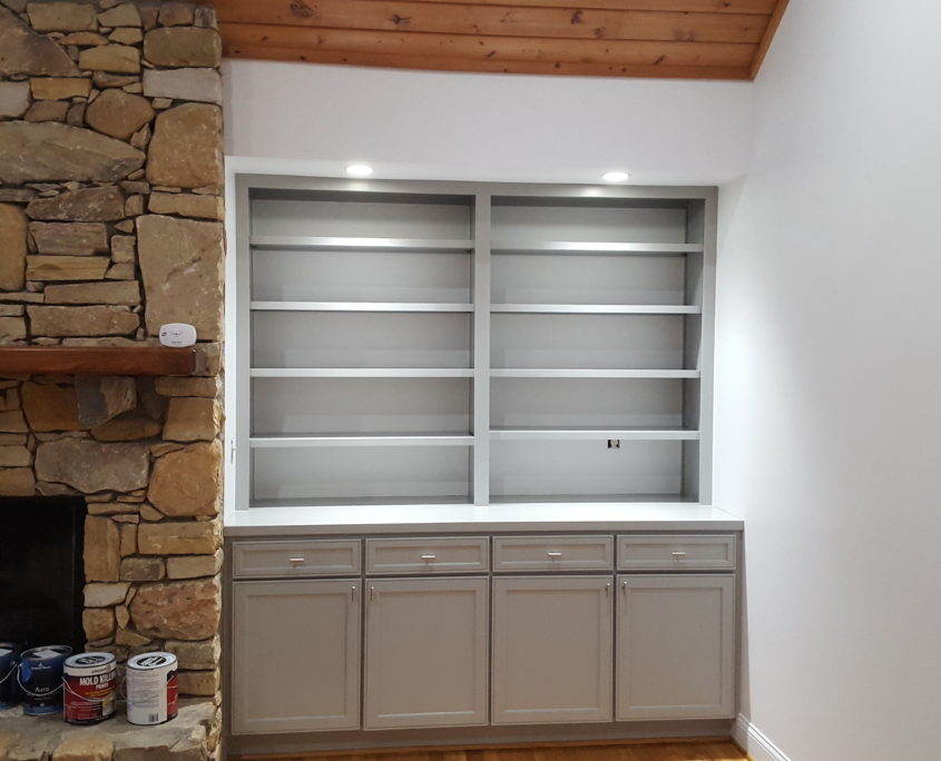 cabinets repainted in hendersonville nc